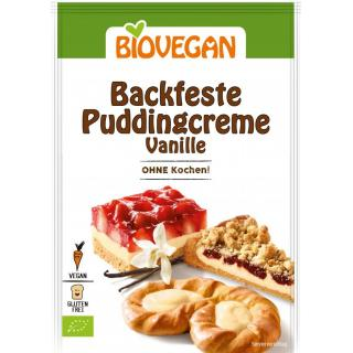 Backfeste Puddingcreme Vanille, BIO