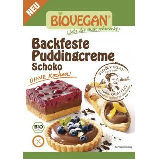 Backfeste Puddingcreme Schoko, BIO