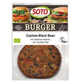 Cashew-Black Bean Burger
