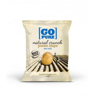 Natural crunch chips salted